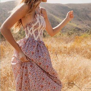 christy dawn | noelle dress in umber sunflower